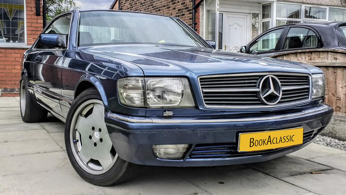 Mercedes Benz 500 Sec Hire Warrington