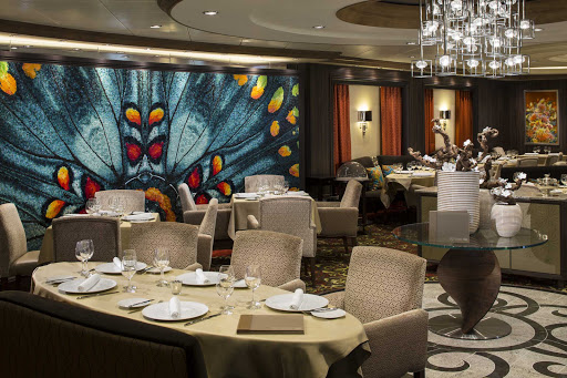 Harmony-of-the-Seas-150-Central-Park.jpg - Royal Caribbean has introduced a new multicourse menu highlighting artisanal ingredients at 150 Central Park on Harmony of the Seas.