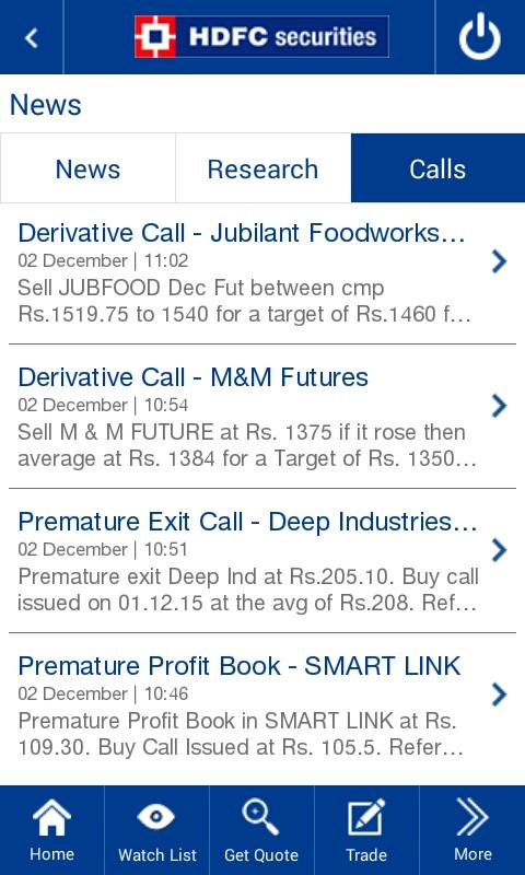 How to trade options in hdfc securities