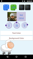 Screenshot of baby age widget : First baby