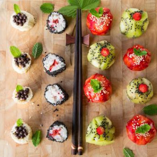 Strawberry Sushi Rolls