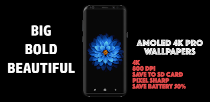🌟AMOLED 4K PRO Wallpapers AMOLED DARK Backgrounds