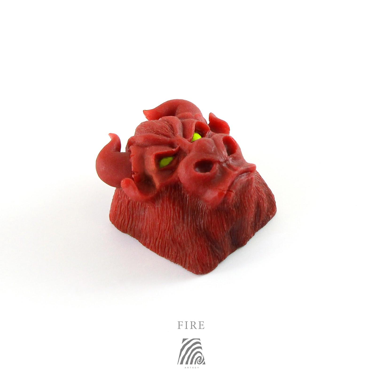 Artkey - Fire Bull