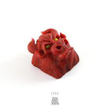 Artkey - Bull - Fire