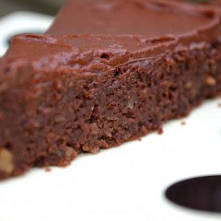BITTERSWEET CHOCOLATE IRISH WHISKEY CAKE