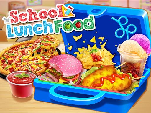 School Lunch Maker! Food Cooking Games 1.6 screenshots 1
