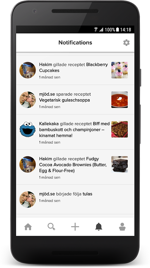myTaste Recipes- screenshot