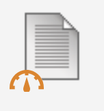 icon for content items that have been added to assignments or other coursework in Blackboard Ally