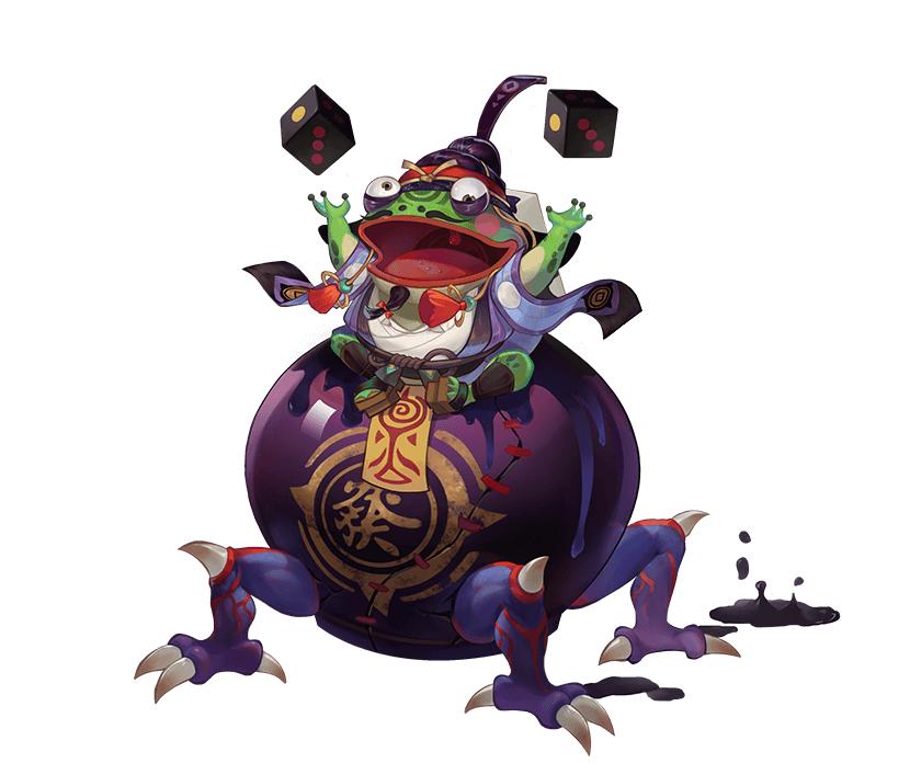 磁器蛙覚醒後