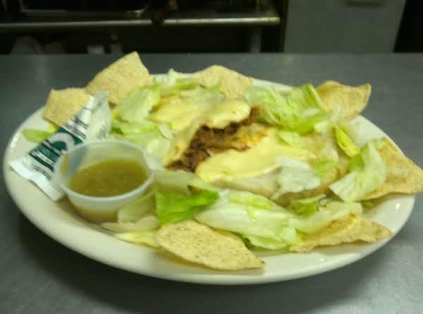 Robin's Shredded Beef Enchilada