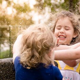 Summer Water Splashes by Anthea Van Wyk - Babies & Children Children Candids ( child, calendar events photography, summer, anthea van wyk, playtime )