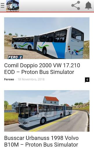 Proton Bus Simulator Urbano e Rodoviu00e1rio (MODS) 9.6 screenshots 1
