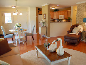 Photo: The main living area in our ASHBERRY condo model at Whitehall Pointe in Albany, New York