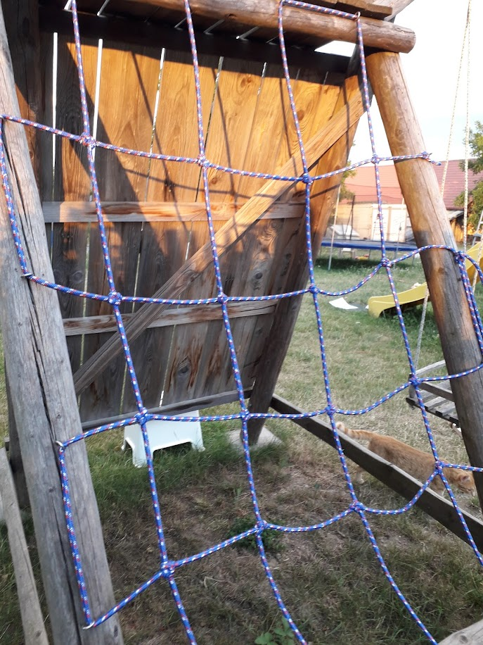 Home Made Cargo Net - Romana Vokalovah