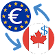 Euro to Canadian Dollar / EUR to CAD Converter apk