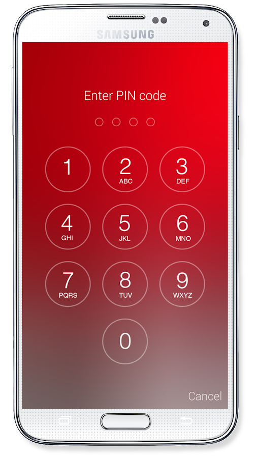 Passcode Lock Screen- screenshot