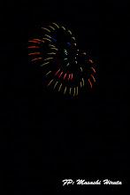 Photo: No.05 5号玉 球磨川に5匹のサル出現!! 秋田県 ㈱北日本花火興業