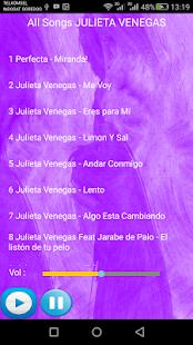 JULIETA VENEGAS SONGS - náhled