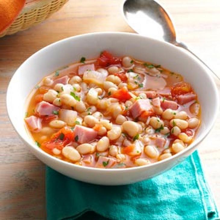 Hearty Navy Bean Soup Recipe