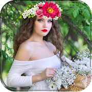 App Flower Queen Crown Hairstyle APK for Windows Phone