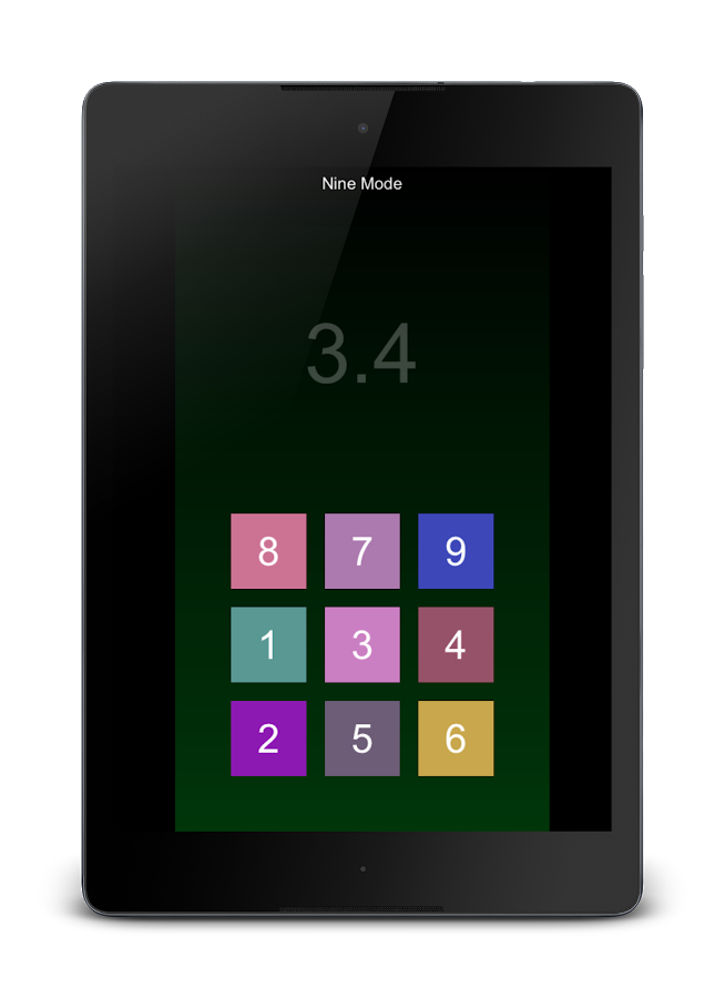 Touch In Order - Touch Numbers- screenshot