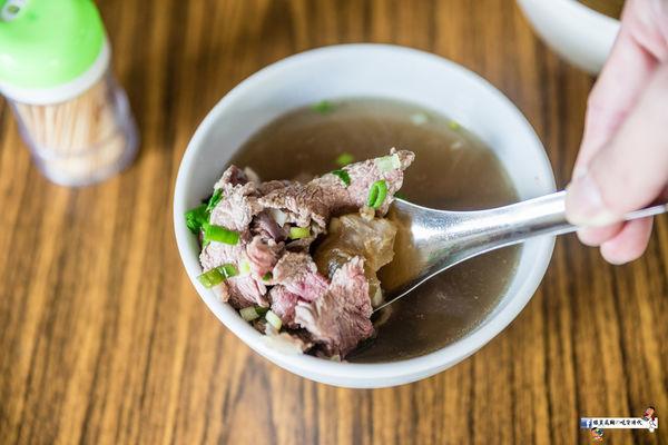 超鮮甜溫體牛肉湯在搭配免費肉燥飯就在安平林牛肉湯
