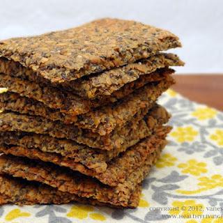 Chia Flax Crackers.