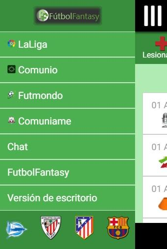 FutbolFantasy & Comunio- screenshot