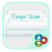 ColorfulWhitei GOLauncherTheme