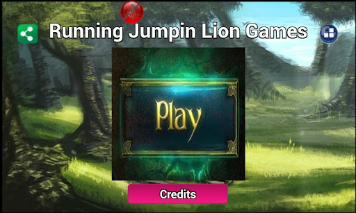 Running Lion Jump Games Free