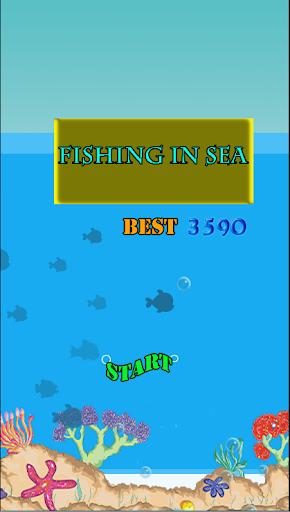 Fishing In Sea