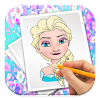 Coloring Book For Barbie APK Icon