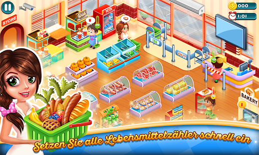 Supermarkt Tycoon Screenshot
