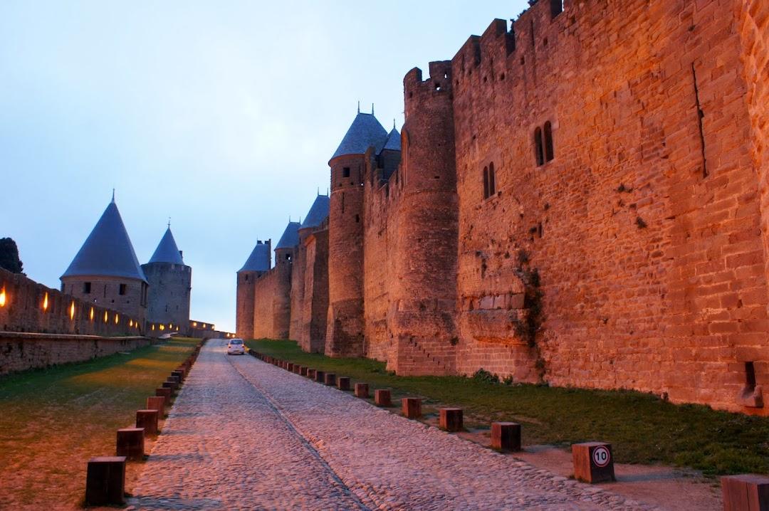 Крепостная стена, Каркасон, Франция
