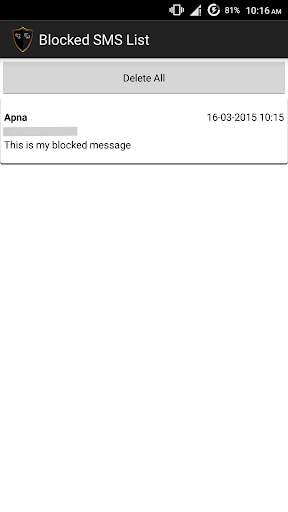 SMS and Call Blocker screenshot 6