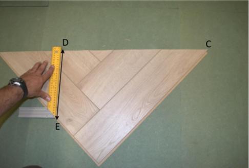 Visgraat Laminaat Leggen : Visgraat laminaat leggen leginstructies tips materiaal bereken