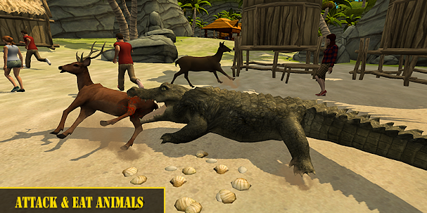 Angry Crocodile Attack Simulator 2019 for PC / Windows 7, 8