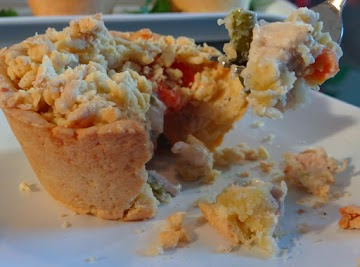 Chicken Pot Pie Muffins Recipe