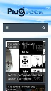 Plug'n Geek screenshot 0