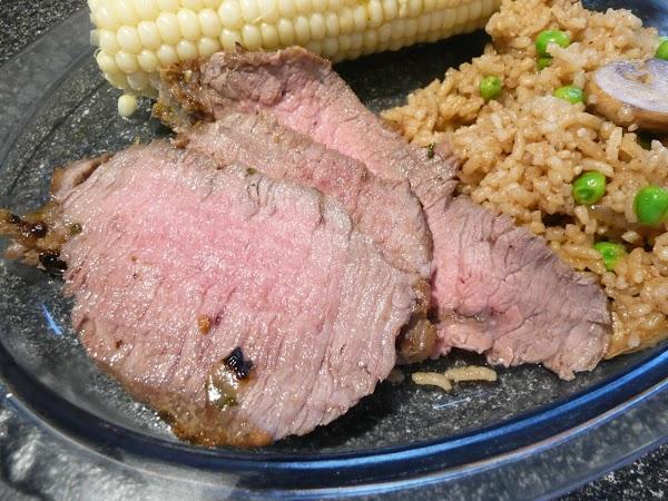 Flank Steak In Fajita Marinade Recipe