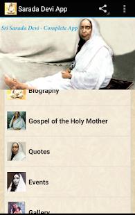Sarada Devi Complete App - náhled