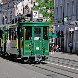 Trämli by Victor Eliu - Transportation Other ( ancient, street, switzerland, transportation, tramway, basle,  )