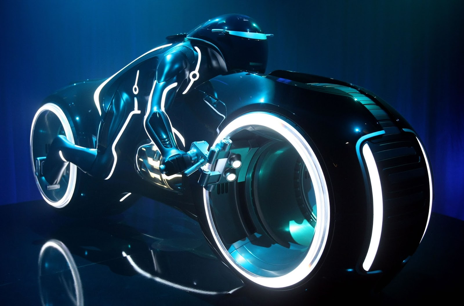Tron Lightcycle electric motorcycle