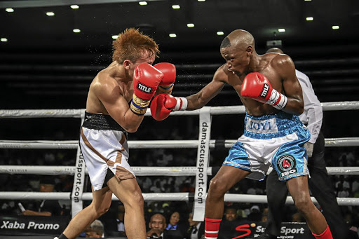 Nkosinathi Joyi taught Joey Canoy of the Philippines a thing or two in boxing in their 12-rounder for the IBO belt - a fight Joyi won on points on Monday.