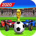 Happy Soccer League : Kids Electric Cars icon