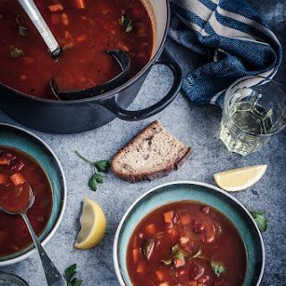 Smoky Spanish tomato soup.