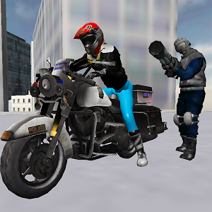 Zombie City Police MotorCycle for PC and MAC