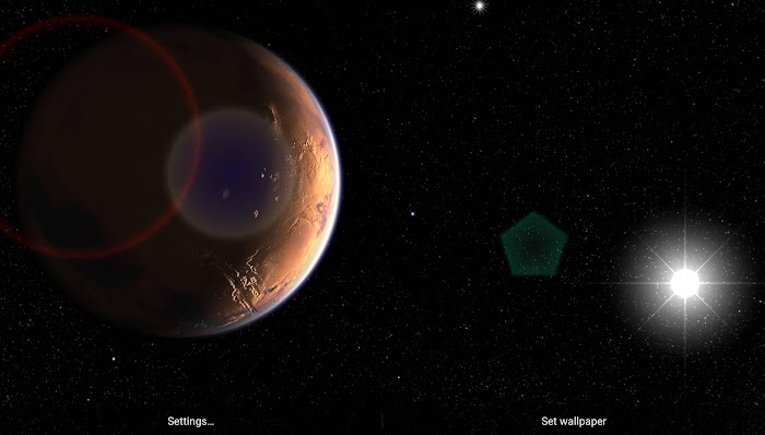 Mars in HD Gyro 3D XL- screenshot