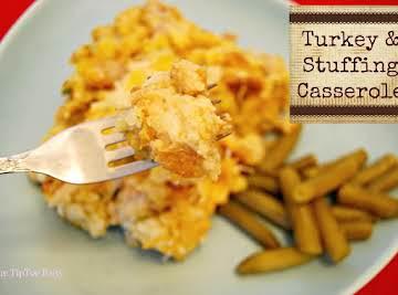 Turkey & Stuffing Casserole