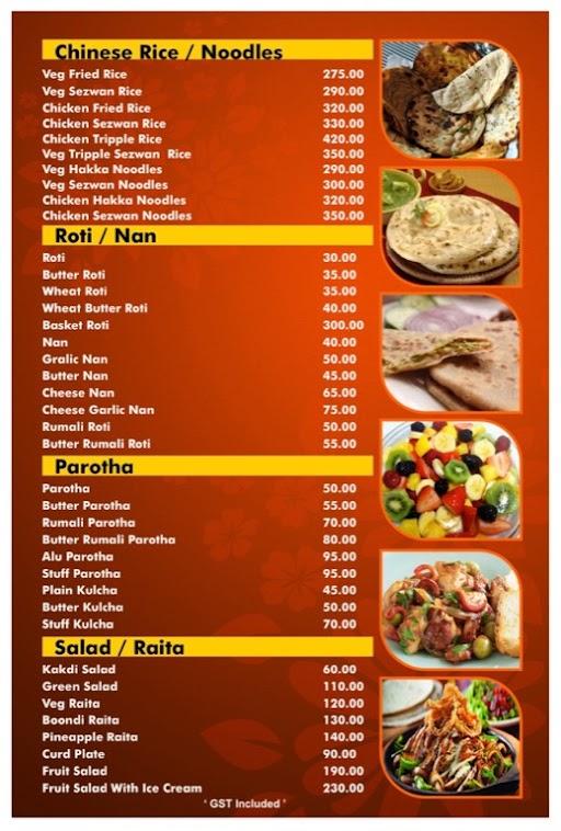 Hotel Kunal menu 6